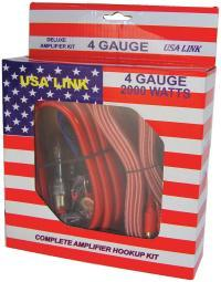 Qpower 4Ga Usa Link *Usa Link* 4G. Amp Wiring Kit W/Rca Cables; Qpower