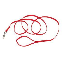 Coastal Pet Products 00306-Red06 Red Coastal Pet Products Single-Ply Nylon Dog Leash Red 3/8 X 72