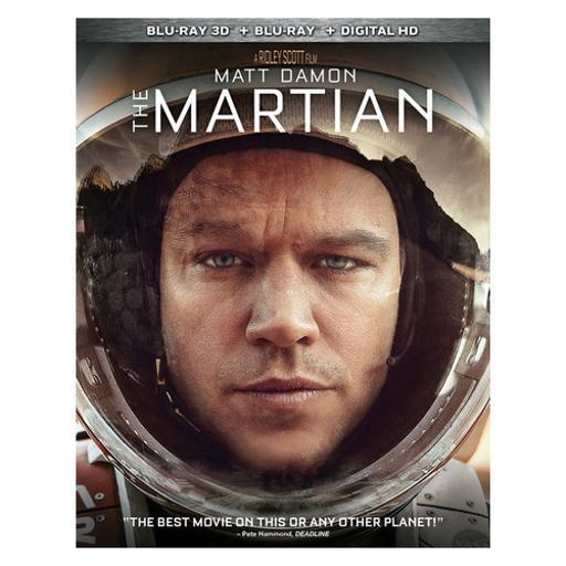 Martian (2015/blu-ray/3d/digital hd/2 disc) (3-d) WNT3HWC42VESYECW