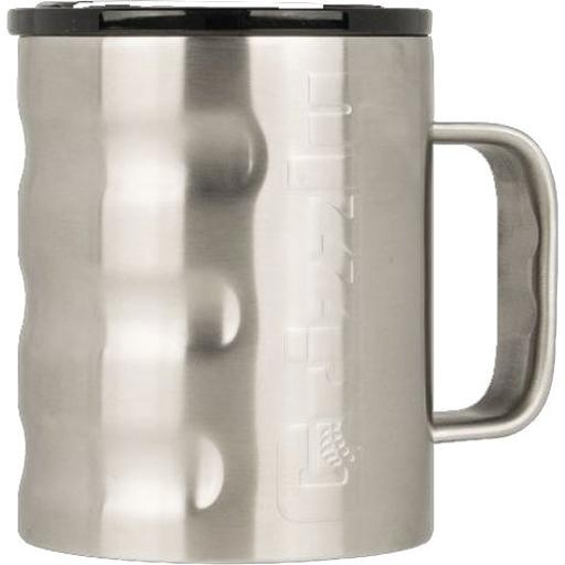 Grizzly coolers 450196 grizzly coolers grizzly gear camp cup 11oz ss w/handle
