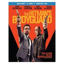 Hitmans bodyguard (blu ray/dvd combo) (2discs/ws/eng/sp sub/eng sdh/5.1dts BR53100