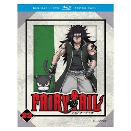 Fairy tail-part 22 (blu ray/dvd combo/4discs) BRFN01766