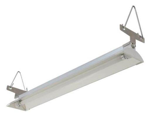 Sun Blaze T5 Fluorescent - Supreme - 2 ft. Fixture 1 Lamp 120V - Indoor Grow Light Fixture for Hydroponic and Greenhouse Use