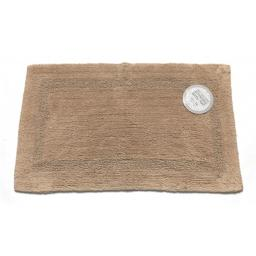 Carnation Home Fashions BM-M2M-44 Reversible 100 Percent Cotton Bath Rug, Size 17 in. x 24 in. - Linen