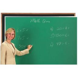Aarco Products DC3660G Composition Chalkboard Aluminum Frame - Green