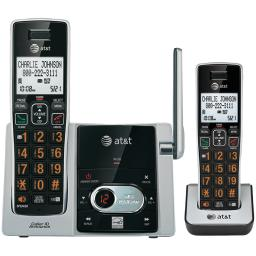 At&t(r) attcl82213 cordless answering system with caller id/call waiting (2-handset system)
