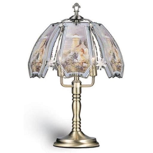 Ore International K301 23.5in. Touch Lamp - Lighthouse