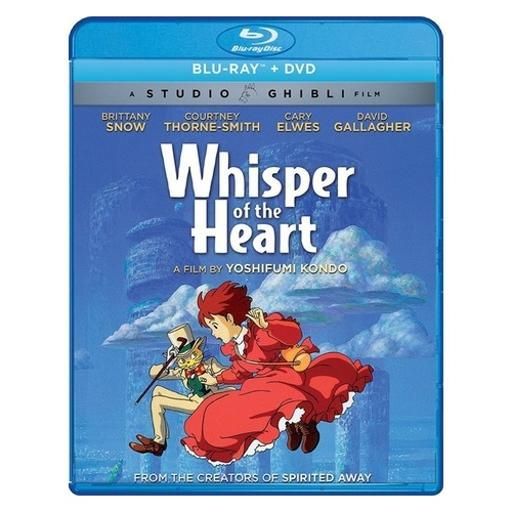 Whisper of the heart (blu ray/dvd combo) (ws/2discs)