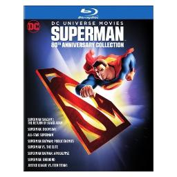 Superman 80th anniversary-dc universe-ultimate collection (blu-ray/8 disc) BR706466