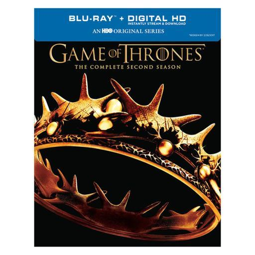 Game of thrones-complete 2nd season (blu-ray/digital hd/re-pkgd) WWCGKXMIZP0VPRE6