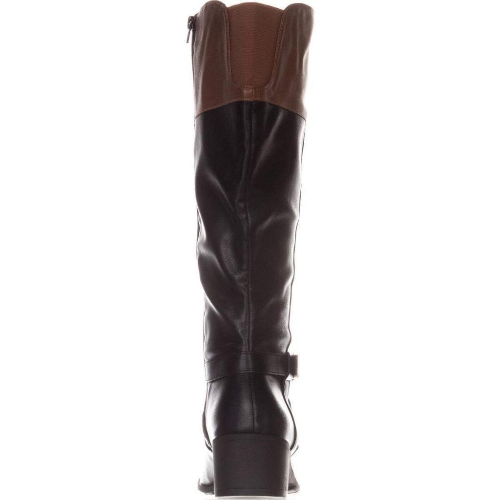 d9e530e5250 Style & Co. Womens Venesa Wide Calf Closed Toe Over Knee Motorcycle Boots