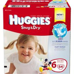 Kimberly Clark 6940704 Diapers Step 6 Big Pack