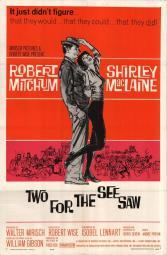 Two for the Seesaw Movie Poster (11 x 17) MOVIF7080