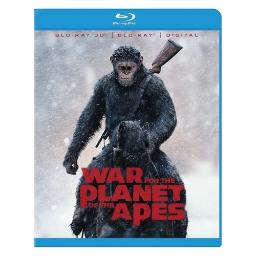 War for planet of the apes (blu-ray/3d/digital hd) (3-d) BR2343222