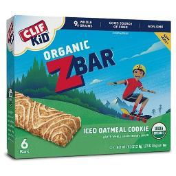 Clif Kid Organic Z Bar Iced Oatmeal Cookie