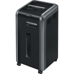 Fellowes, inc. 3322001 powershred  225i provides high performance commercial shredding. 100% jam proof