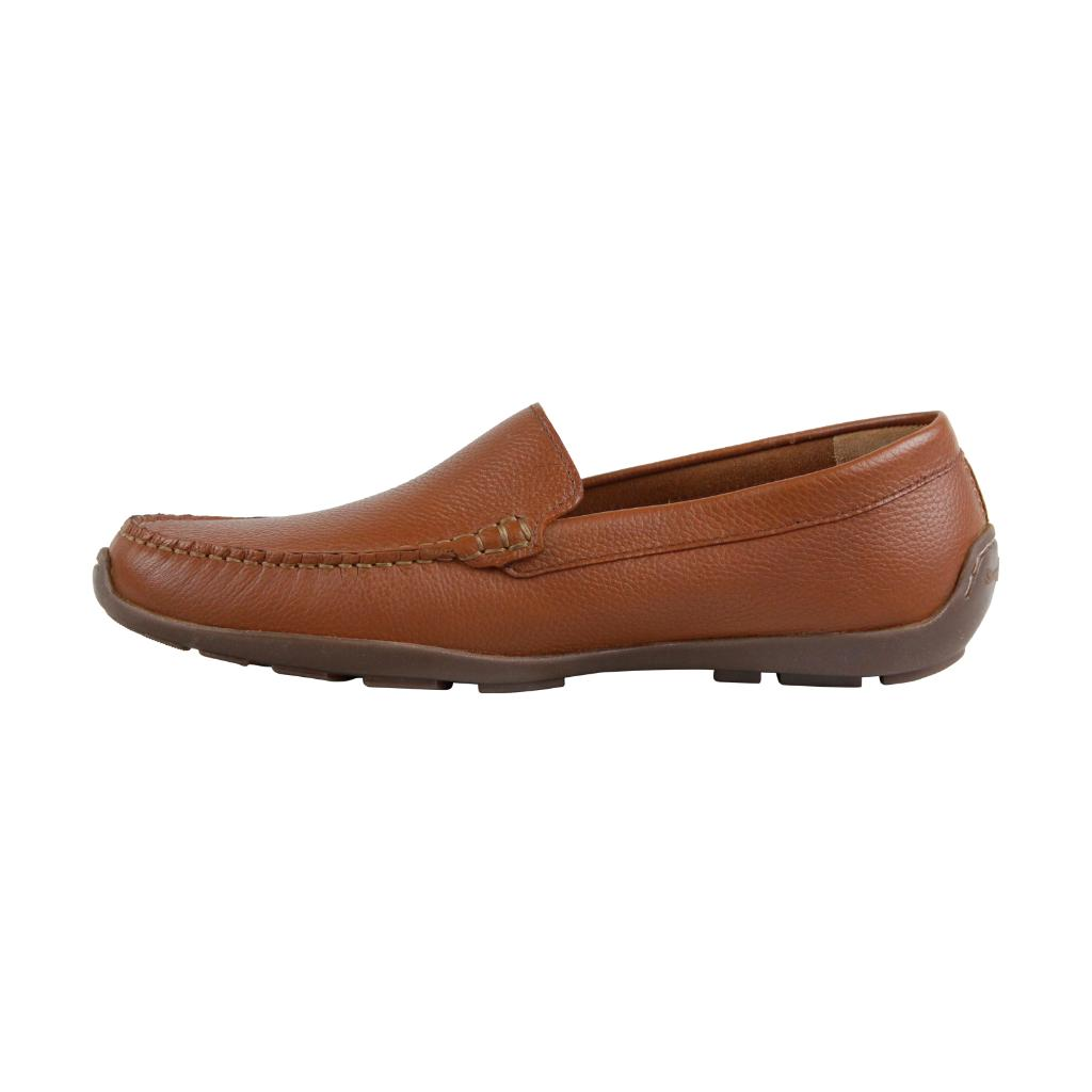 301f40b6da08 Tommy Bahama Tommy Bahama Acanto Mens Brown Leather Casual Dress Slip On Loafers  Shoes
