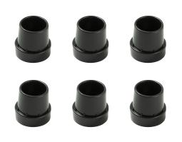 Universal Replacement Rubber Cap Tips for Mini Trampoline Legs (Set Of 6)