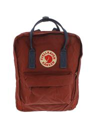 Fjallraven Kanken Classic Fabric Backpack - Ox Red / Royal Blue