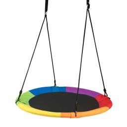 "40"" Flying Saucer Tree Swing Outdoor Play for Kids"