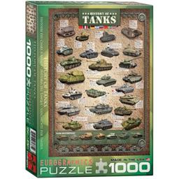 EuroGraphics History of Tanks Puzzle (1000-Piece)
