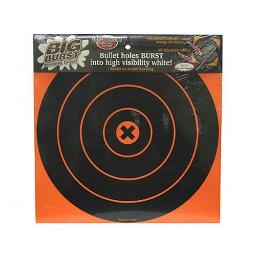 Birchwood Casey Big Burst 12-Inch Bull's-Eye - 25 Targets, 25 Sheet Value Pack