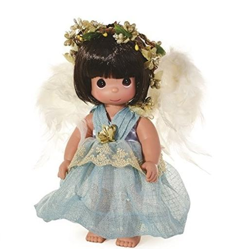Precious Moments Dolls by The Doll Maker, Linda Rick, Faith, Angel, 12 inch Doll This angelic doll will remind you to always have faith that your guardian angel is never far away*All vinyl doll created with the finest materials.*Once upon a time there was a doll made just for you. Designed by Linda Rick, The Doll Maker*Officially licensed Precious Moments Doll
