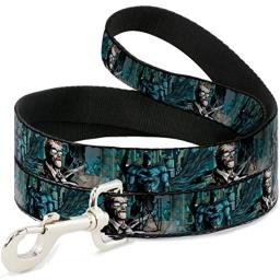 Buckle Down Dog Leash New 52 Detective Comics Issue 1 Batman James Gordon Scene 4 Feet Long 1.5 Inch Wide