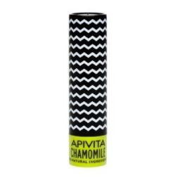 Apivita Lip Care with Chamomile SPF 15 (New Product, Released in 2017) - 4.4gr