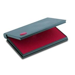 "2000 PLUS Stamp Pad, Felt, Size No.2, 6-1/4"" X 3-1/2"", Red Ink (090411)"