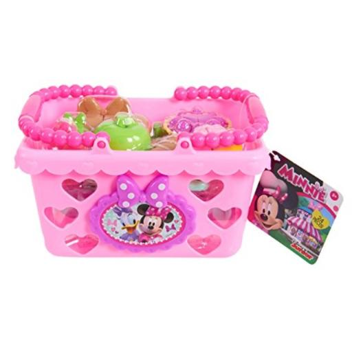 Minnie Bow Tique Bowtastic Shopping Basket Set, Pink (Styles may vary) Recommended Age 14+ Years*Not recommended for play