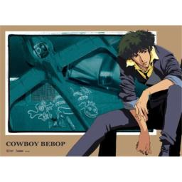 Official Licensed Cowboy Bebop Wall Scroll: Spike & Swordfish II, 33 x 44 inches