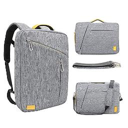 173 Inch convertible Laptop Backpack WIWU Multi Functional Travel Rucksack Water Resistant Knapsack Work School college Backpacks for Men and Women, Business Backpack fit 17 inch laptops