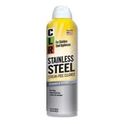 CLR CSS-12 Stainless Steel Cleaner, Citrus, 12 oz. Capacity Can (Pack of 6)