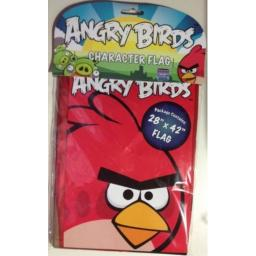 Angry Birds Printed Character Flag Red Bird