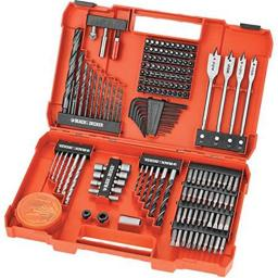 Black & Decker BDA91722 Accessory Set, 201-Piece