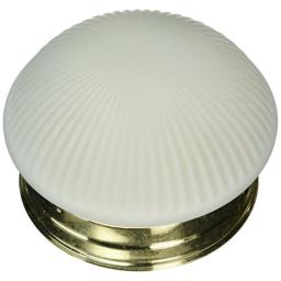 Boston Harbor F13BB01-68623L 6136865 Dimmable Round Ceiling Light Fixture, (1) 60/13 W Medium A19/Cfl Lamp, Polished, Brass