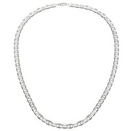 14K White Gold Filled Gucci Link Chain 6MM