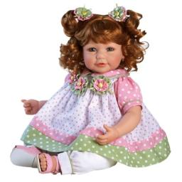 "Adora Toddler Tutti Fruity 20"" Girl Weighted Doll Gift Set for Children 6+ Huggable Vinyl Cuddly Snuggle Soft Body Toy"