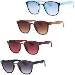 Colorful Wayfarer Sunglasses (4 Pack)