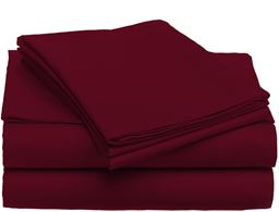 Luxury Home Super-Soft 1600 Series Double-Brushed 6 Pcs Bed Sheets Set