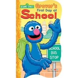 "Bendon 7035-VL Sesame Street 5"" x 8.5"" Board Book, Assorted"
