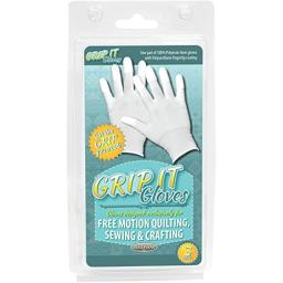 Grip Gloves For Free Motion Quilting-Small