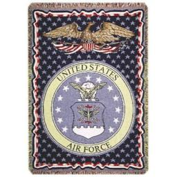 Simply Home U.S. Air Force Triple-Layer Throw