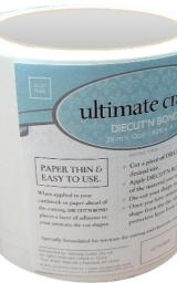 """Artdeco Creations 157644 Ultimate Crafts Diecut'N Bond Double-Sided Tape 4.72""""X82'-Clear"""