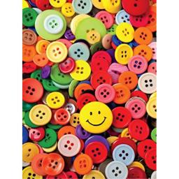 Ceaco Photography - Buttons Jigsaw Puzzle