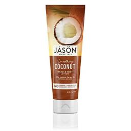 JASON Smoothing Coconut Hand and Body Lotion, 8 Ounce Bottle
