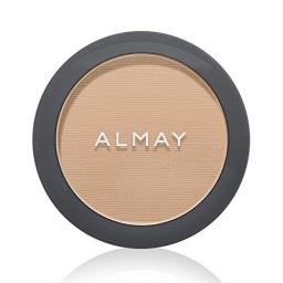 Almay Pressed Powder All Set No Shine, My Best Light [100] 0.20 oz (Packaging May Vary)