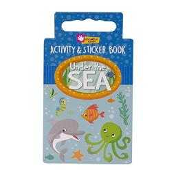 Creative Hands Activity Book Under The Sea Arts and Craft