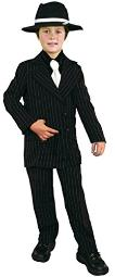Charades Gangster Suit Children's Costume X-Small
